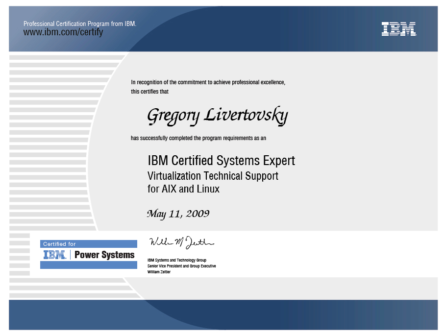 IBM Certified Systems Expert. Virtualization Technical Support for AIX ...